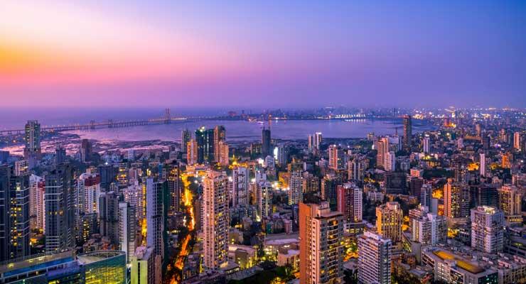 Cityscape of Mumbai